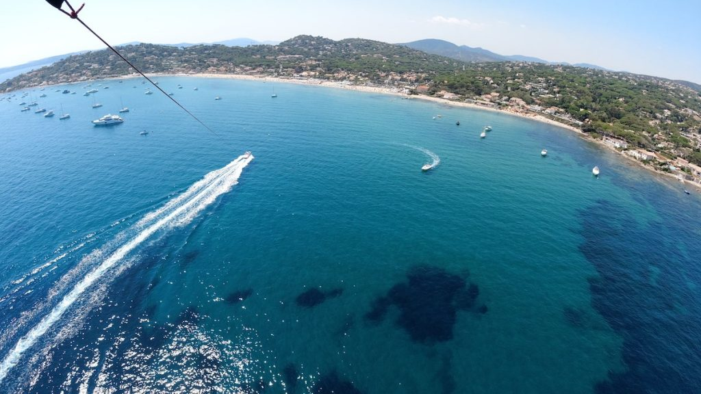 Sainte-Maxime - Les Issambres - St-Tropez - Parachute ascensionnel