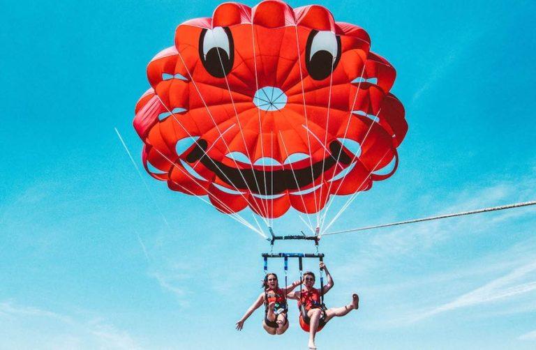 vol duo en parachute ascensionnel
