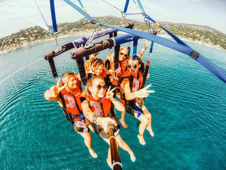 Tentez l'aventure du parachute ascensionnel