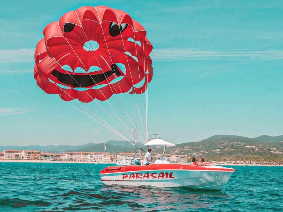 Décollage - Parachute ascensionnel Ste-Maxime