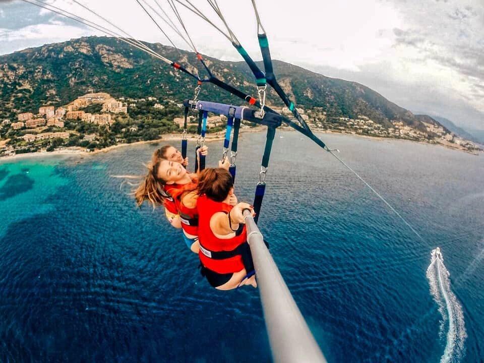 Réservez votre activité - Parachute asensionnel