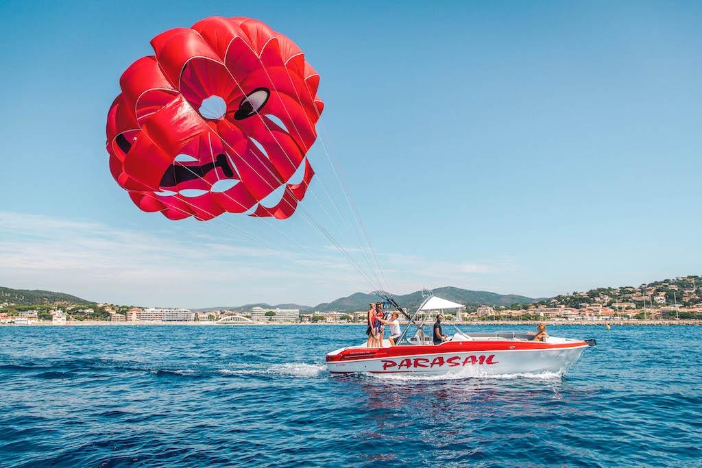 Accueil - Parachute ascensionnel Ste-Maxime
