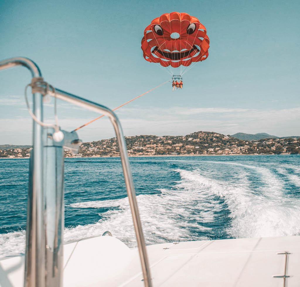 Parachute ascensionnel Ste Maxime - Durée de l'activité